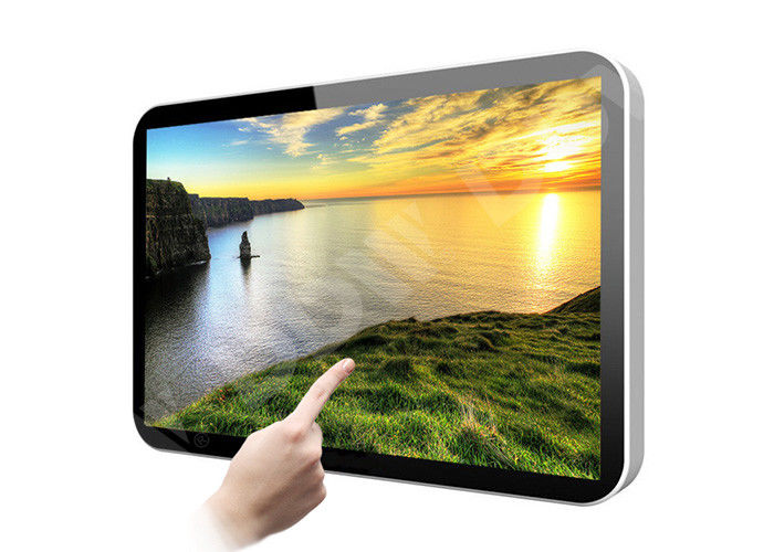 Interactive Wall Mount Lcd Advertising Screens Android Touch Screen 1920x1080 DDW-AD4201WN